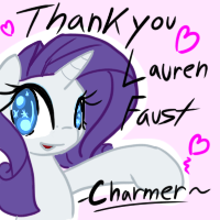 /mlp/ Lauren Faust Card contribution by ACharmingPony