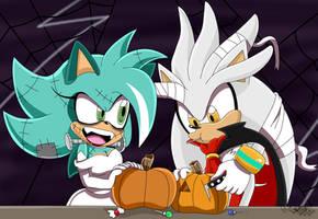 Quartz Halloween Art Trade by vivicarol0200