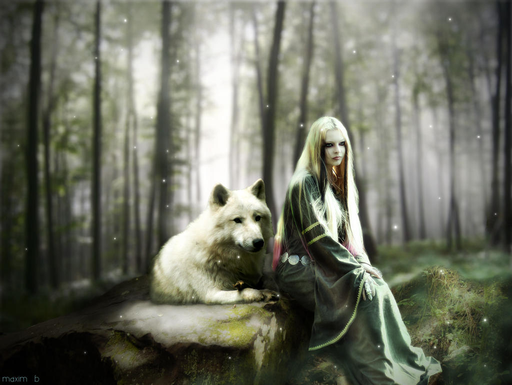 woman and wolf The_girl_and_wolf_by_maxim_b-d38dhwf