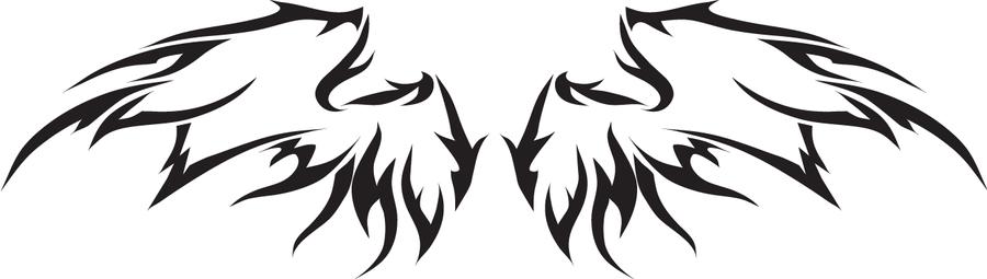 Tribal Wings by DemonKing-aka-Grim on DeviantArt