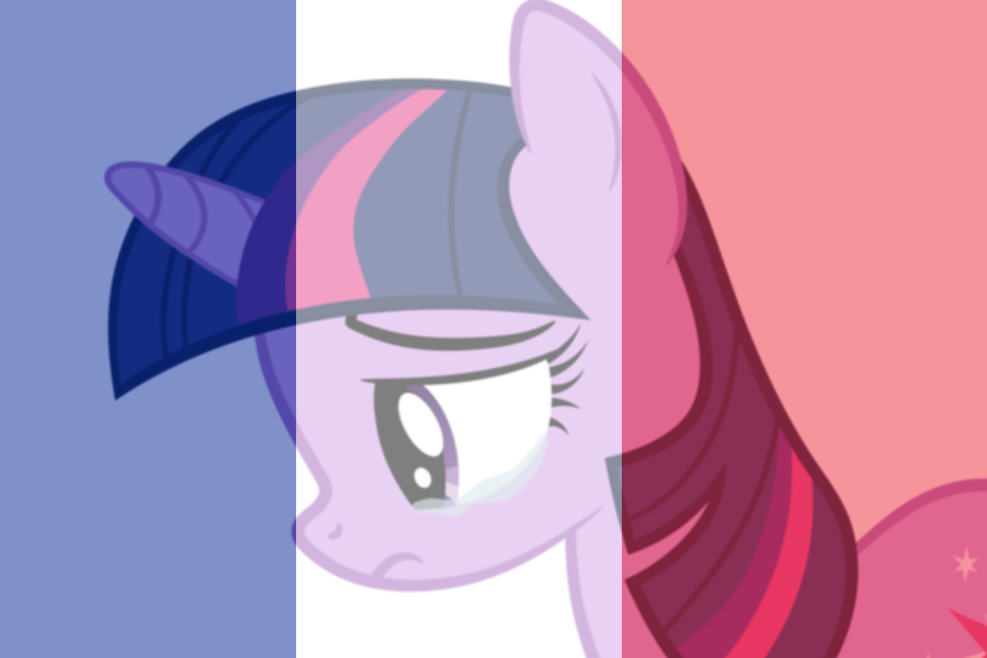 Pray For France Twilight Sparkle by Michaelsety