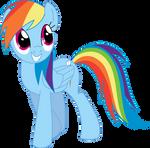 Rainbow Dash is looking (Pony)