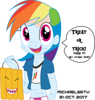 Treat Or Trick! (Happy Halloween!) by Michaelsety