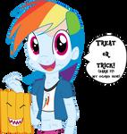 Treat Or Trick! (Happy Halloween!)