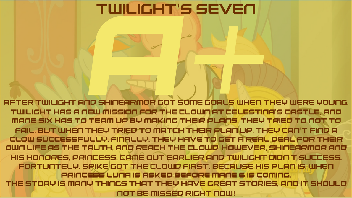 Twilight's Seven Review by Michaelsety