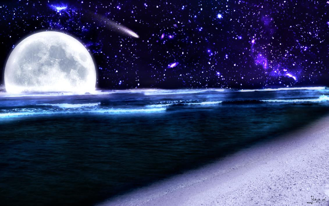 Night Sky By XYazix
