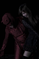 Custom Daredevil vs Eya by TheOneRedPanda