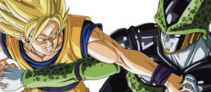 Render Goku vs Cell