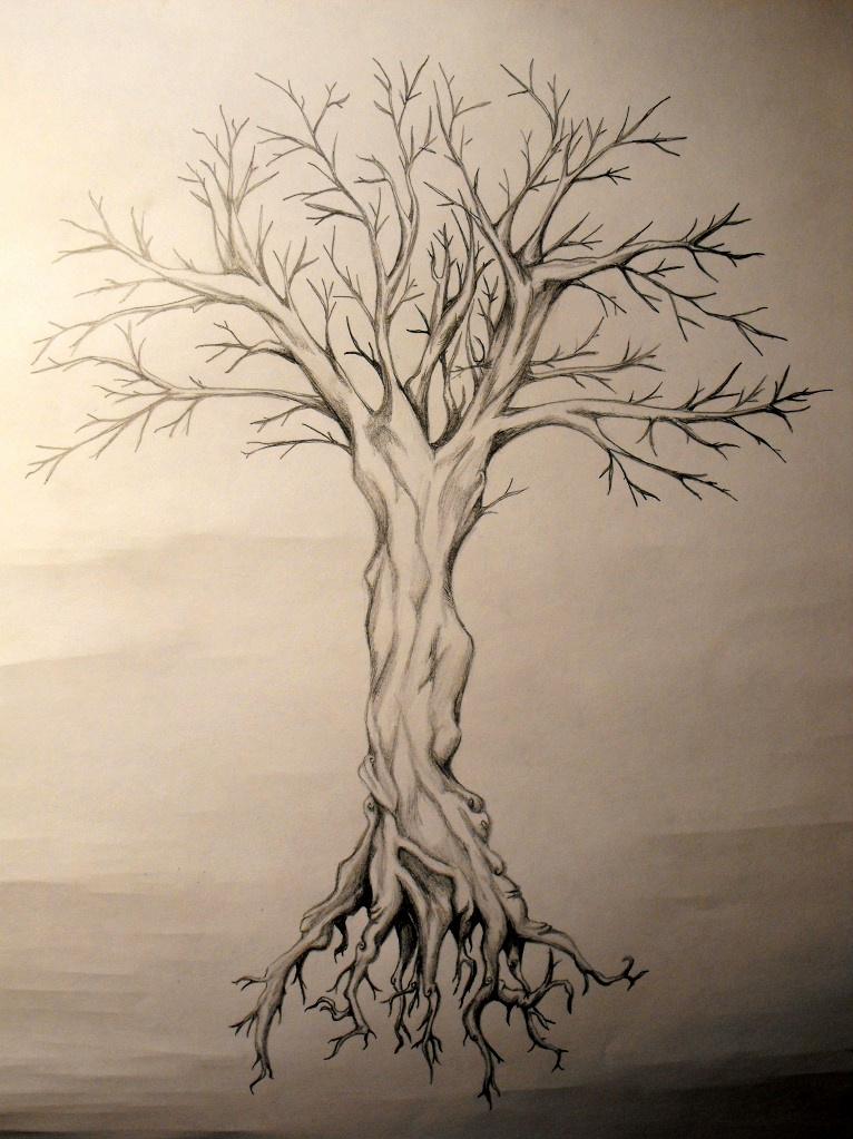 Dead tree by wolfenxdreams on deviantart for Dead tree tattoos