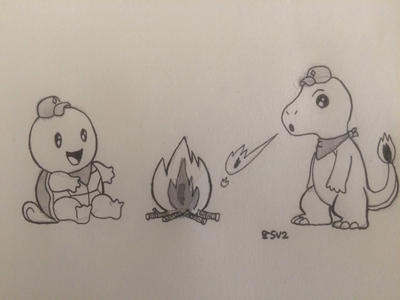 Inktober Day Twenty-Eight: Burn by prinnyp