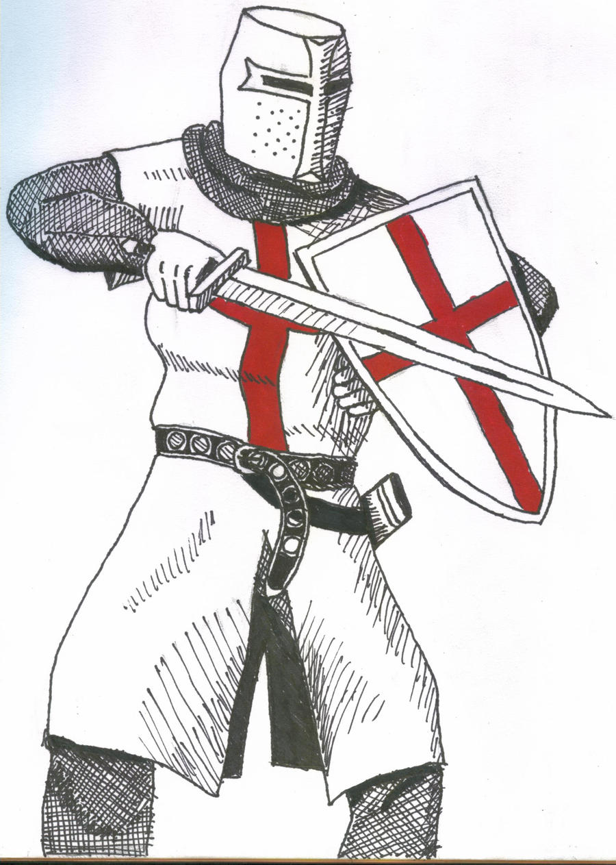 Templar Knight by IronFrenzy12 on DeviantArt