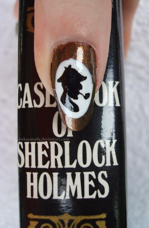 Sherlock Holmes. by NakayaNails