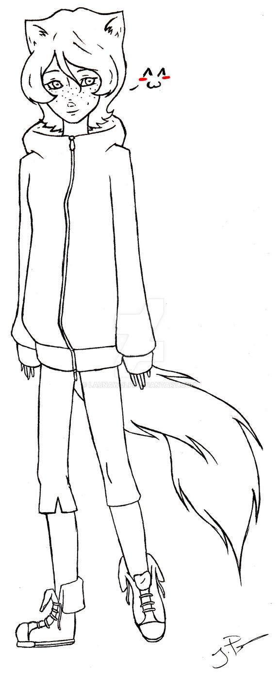Line Art Human : Line art serenity human by launawolf on deviantart