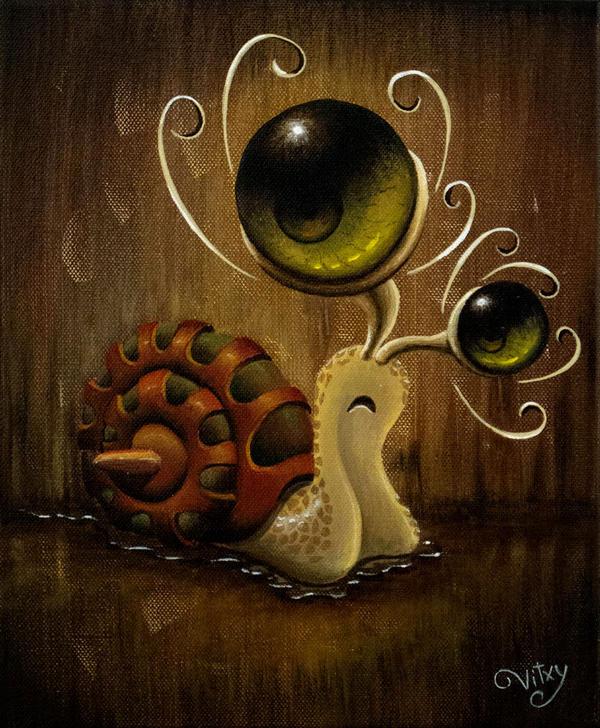 Snailien by vitxy