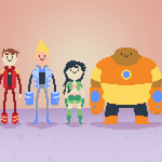 Bravest Warriors! by pangaru