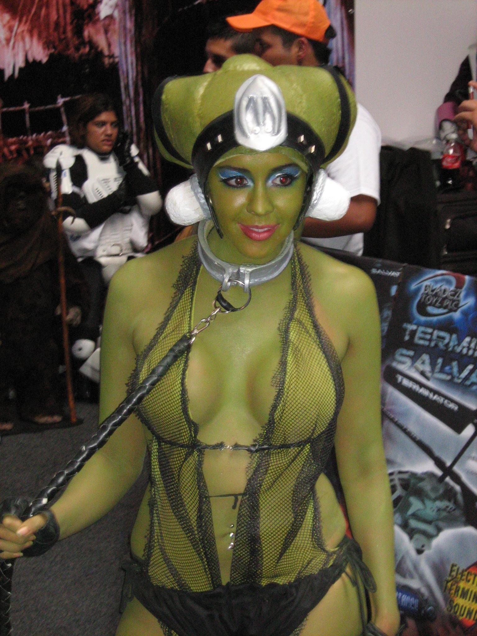 Nude cosplay star wars oola