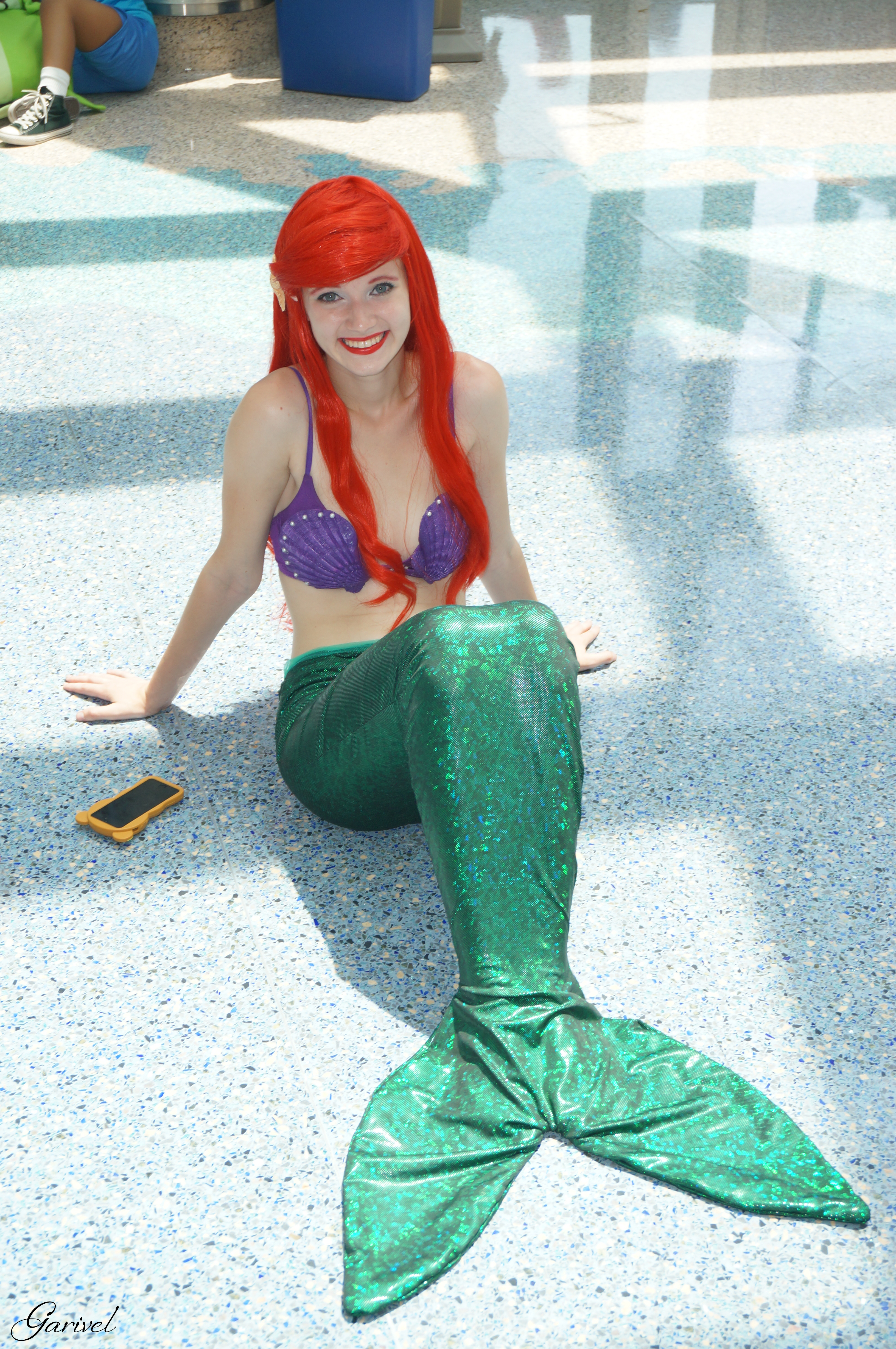 Ariel - The Little Mermaid by Garivel