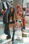 Black Rock Shooter and Yoko Littner