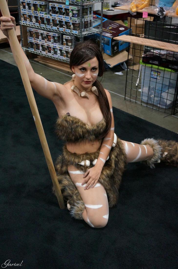 Cute nude cosplay