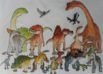 The great family of Dinosaurs