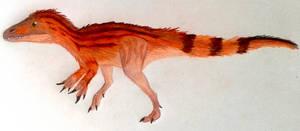 A baby Spinosaurus aegyptiacus (uh... maybe)
