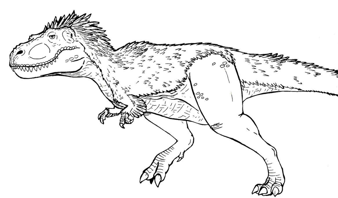 Comment dessiner t rex - Modele dessin dinosaure ...