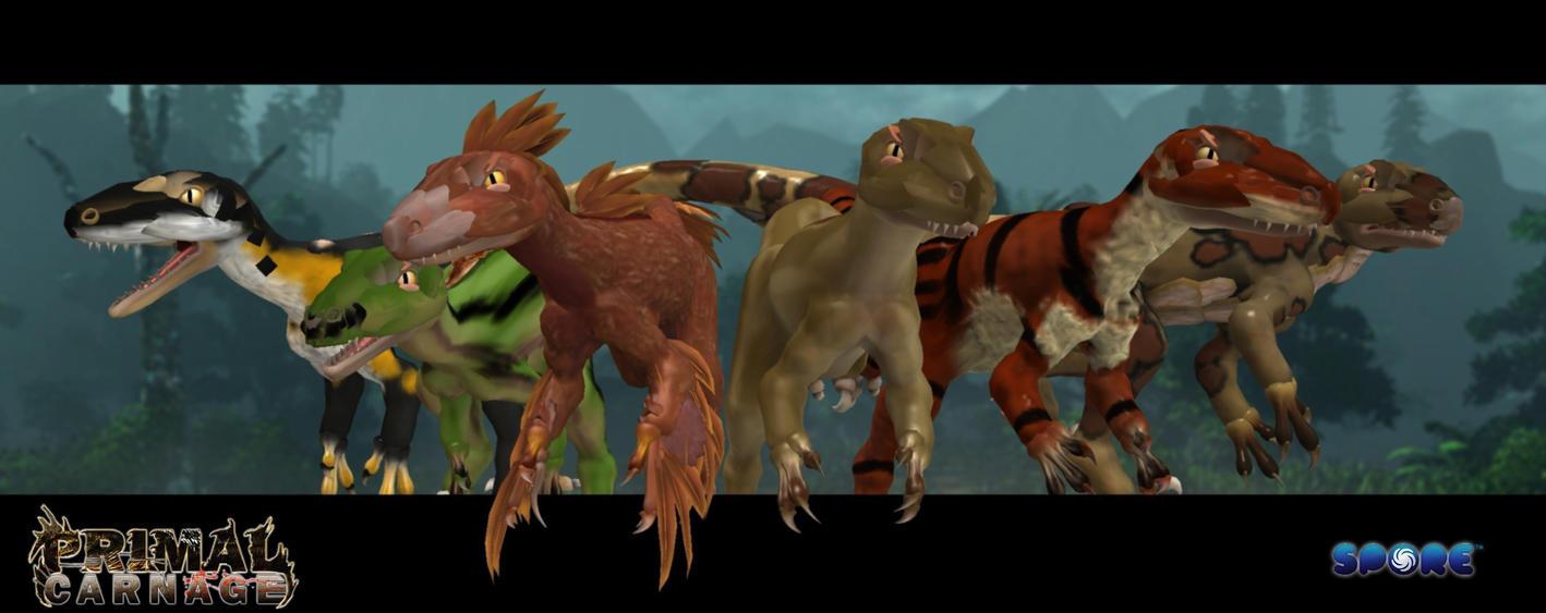Spore novaraptors by zewqt on deviantart - Spore galactic adventures wallpaper ...