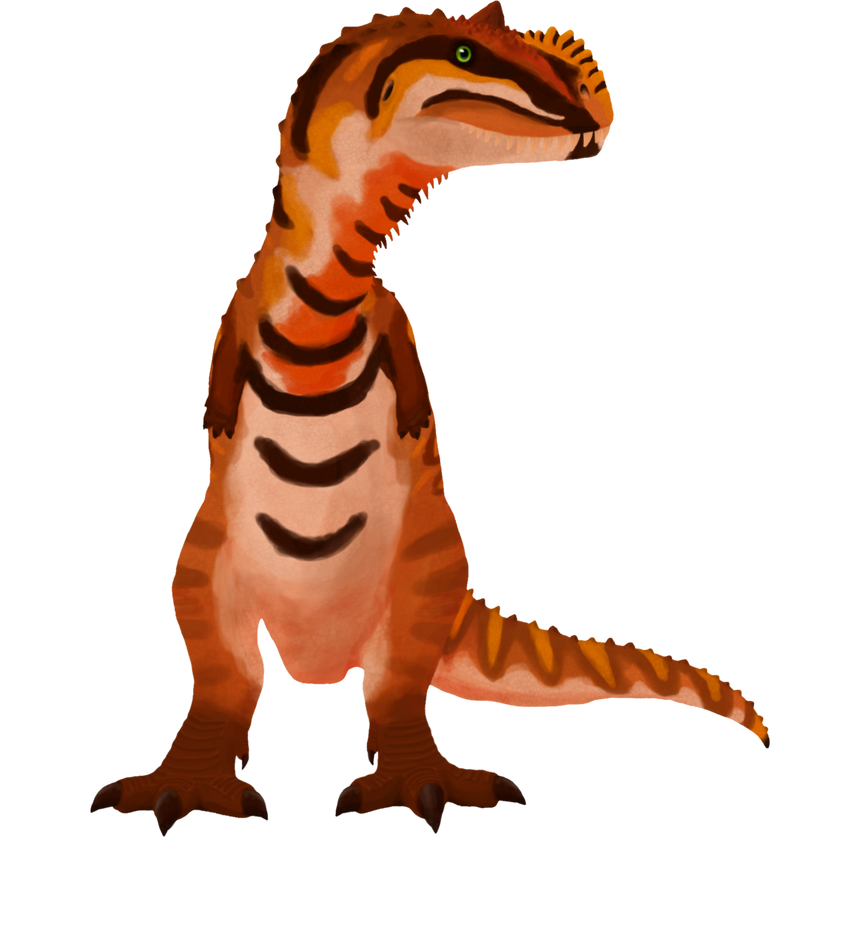 Beach boy Majungasaurus png by ZeWqt