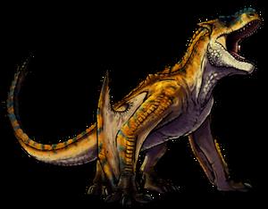 Tigrex, but a lot less goofy