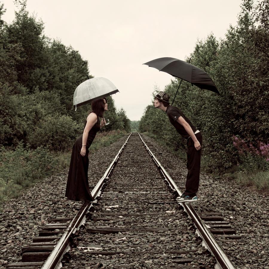 Jour de pluie a la track 2 by p0ny2