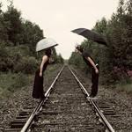 Jour de pluie a la track 2