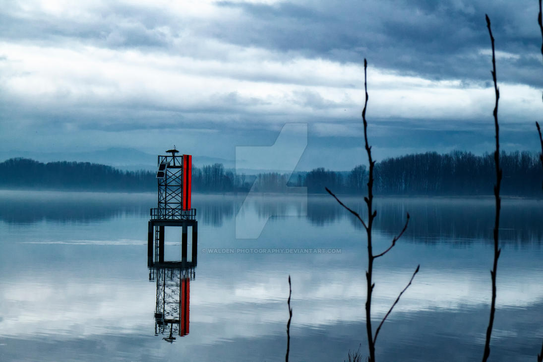 Sauvie Island Reflections by Walden-Photography