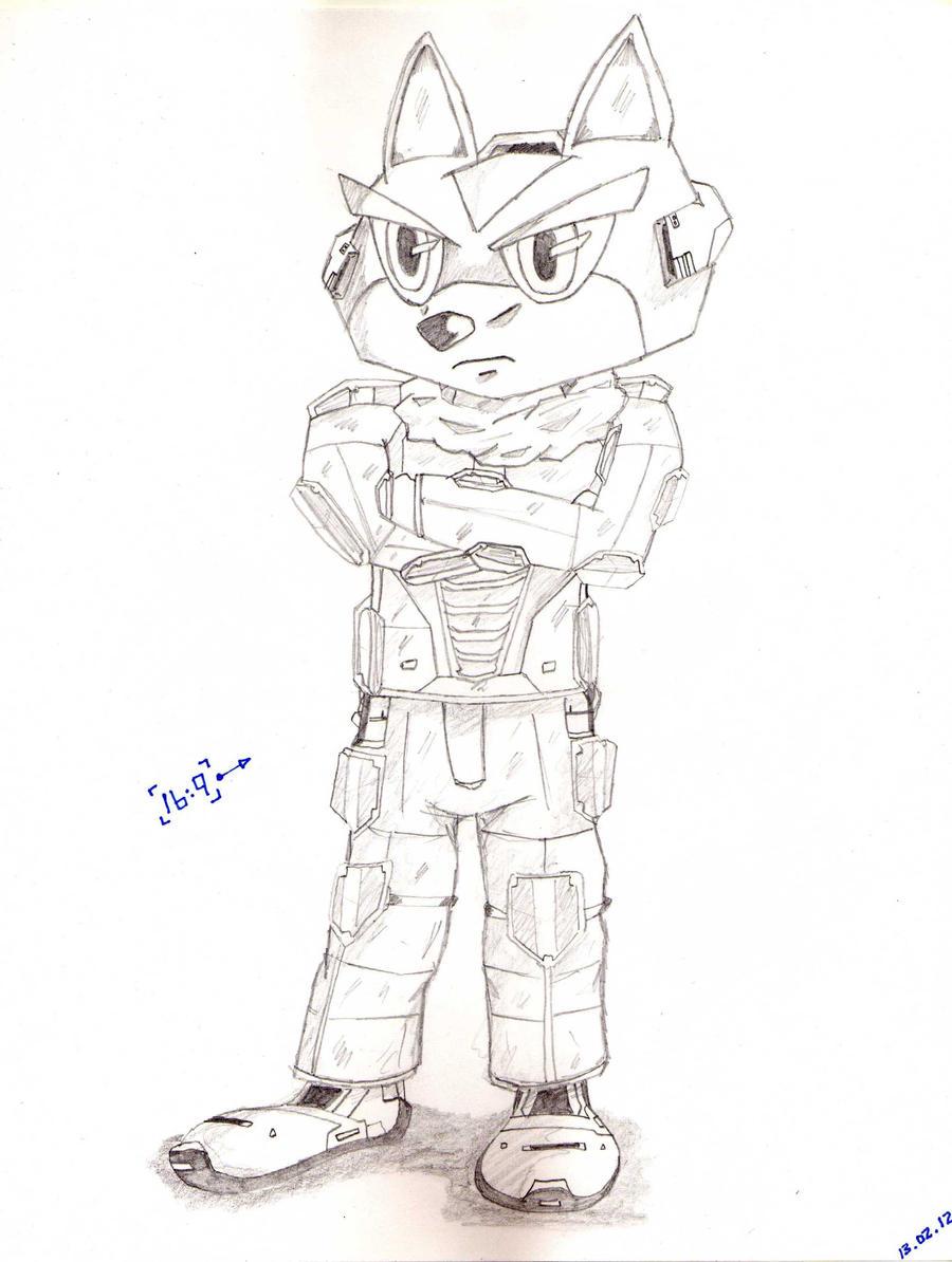 Fox Mccloud Concept By Hepz14 On Deviantart