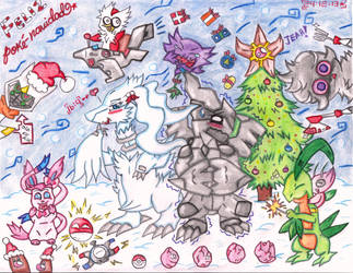 My Happy Poke-Christmas by hepz14