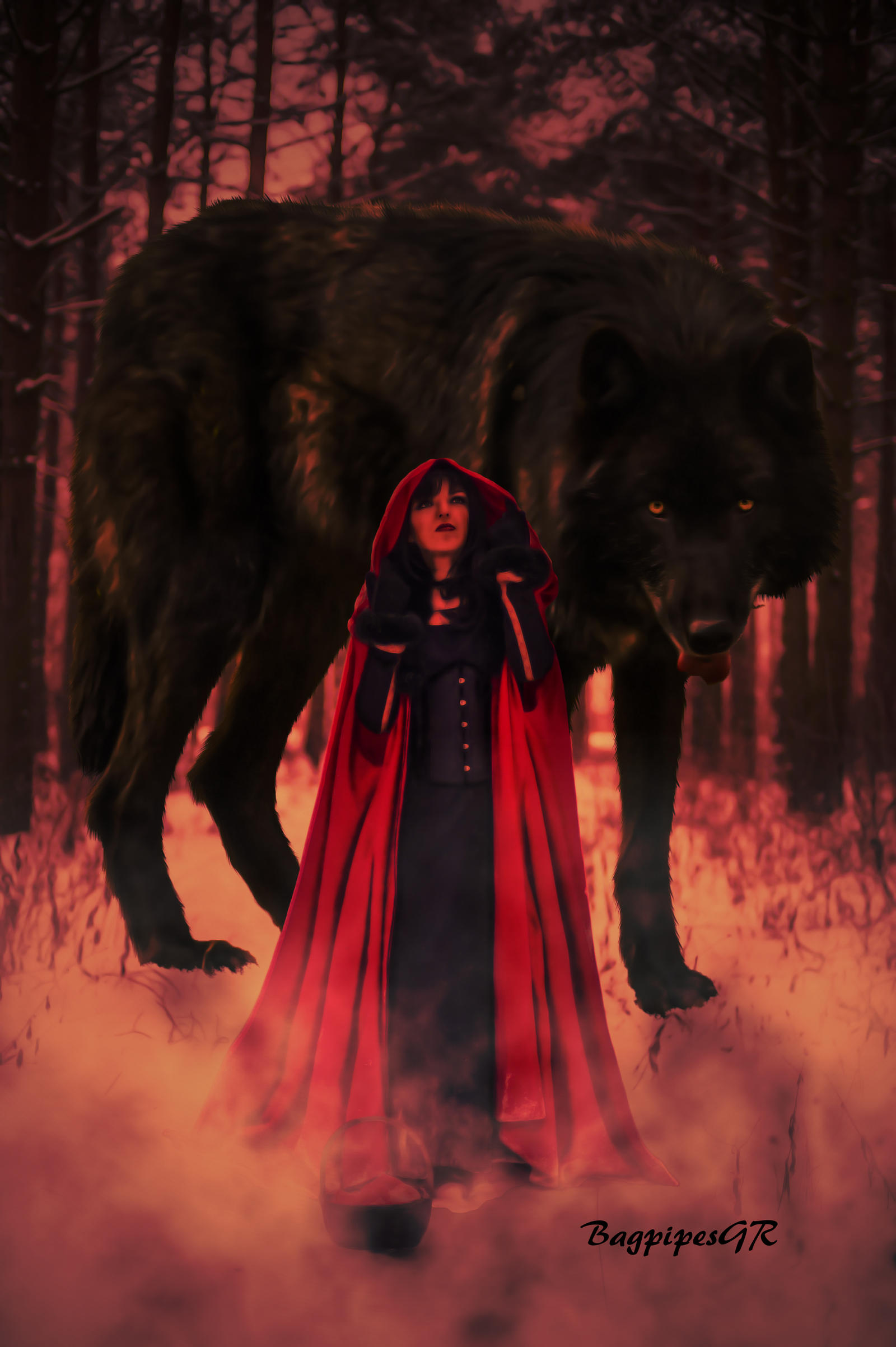 Red Riding Hood by BagpipesGR on DeviantArt