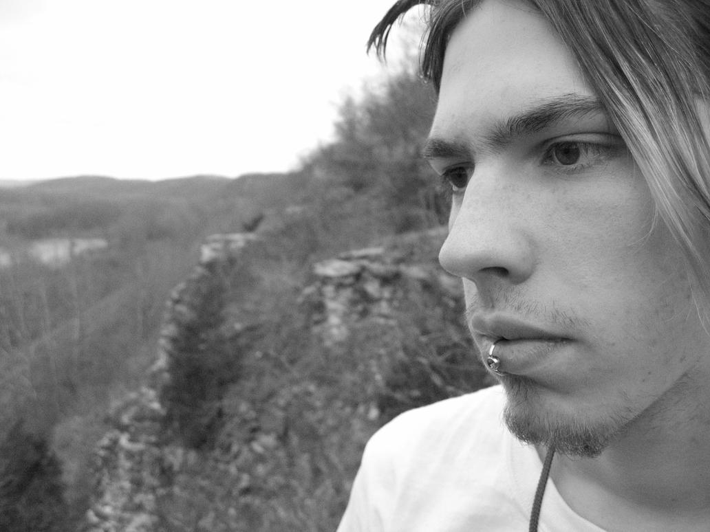 Matt on Cliff by digitalhomicide