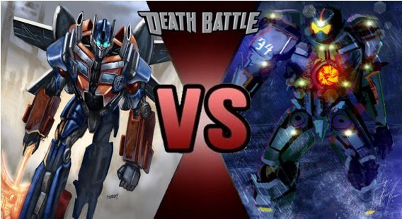 Optimus Prime vs Gypsy Danger 2 by FEVG620 on DeviantArt