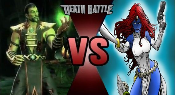 Shang Tsung vs Mystique by FEVG620