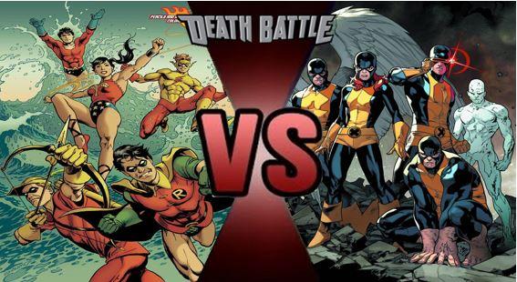 Teen Titans Vs X Men 101