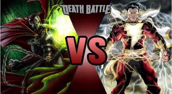 Spawn vs Shazam by FEVG620