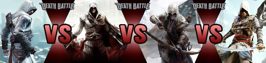 Altair vs Ezio vs Conn...