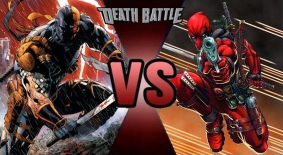 Deathstroke vs Deadpoo...