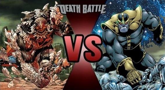 Darkseid vs doomsday