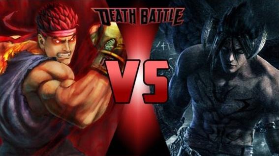 evil ryu vs devil jin by fevg620 on deviantart