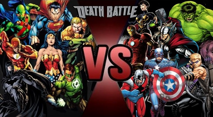 Superman Vs The Avengers