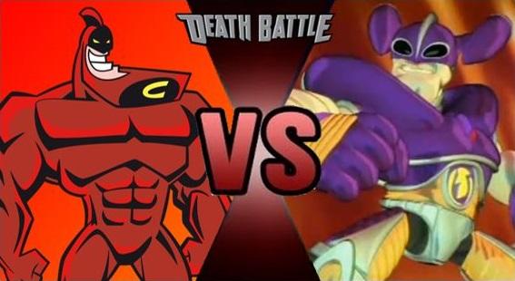 Crimson Chin vs Ultra Lord by FEVG620 on DeviantArt