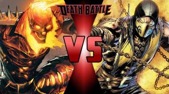 Ghost Rider vs Scorpion by FEVG620 on DeviantArt
