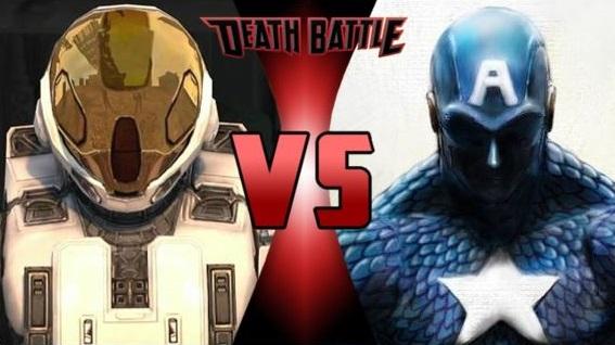 The Meta vs Captain America by FEVG620