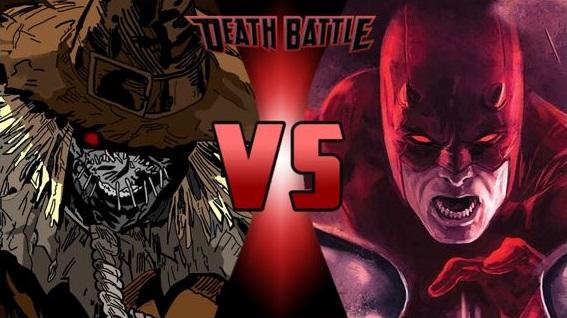 Scarecrow vs Daredevil by FEVG620