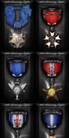101st Gaming Clan Medal Set